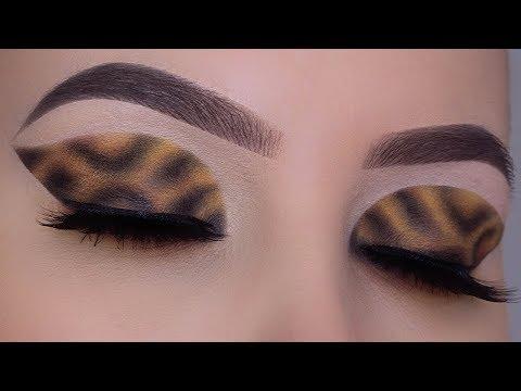 Leopard Eye Makeup   HD Makeup Tutorial In depth explanation