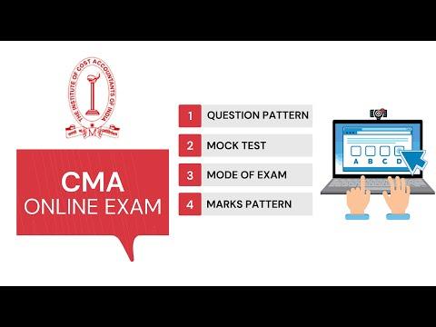 CMA Online Exam   CMA Exam Pattern   CMA Mock Test - YouTube