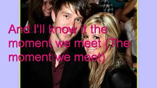 Ashley Tisdale Someday my Prince will come lyrics on the screen