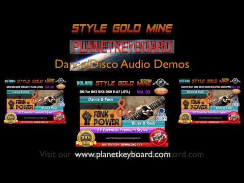 Style Gold Mine Styles - Dance-Blues-Rock