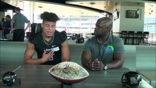 PRESSBOX SHOW HS MEDIA DAY QB Joey Gatewood