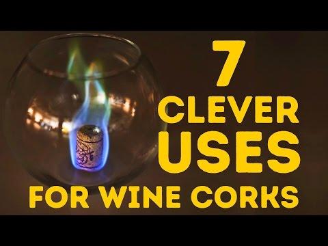 Estou chocado com a variedade de usos da rolha de vinho!