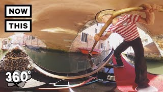 360 TOUR - The Canals of Venice, Italy | Unframed by Gear 360 | NowThis