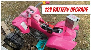 POWER Wheels with a Dead Battery? Try this