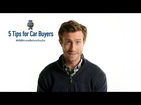 5 Time Saving Tips For Car Buyers | #KBBKnowBeforeYouGo