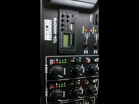 MUSICTONE TZA-5000 | AHUJA TZA-4000 I Overload problem - смотреть