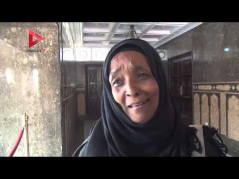 سيدة في ضريح عبدالناصر:  السيسي مُعيّن من سيدنا الحسين