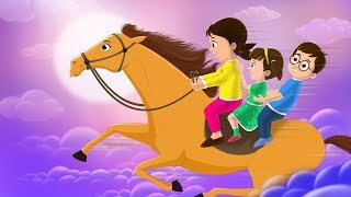 Lakdi Ki Kathi Kathi Pe Ghoda Song (लकड़ी की काठी)   Cover by FunForKidsTV