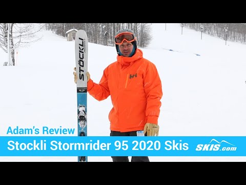 Video: Stockli Stormrider 95 Skis 2020 1 50