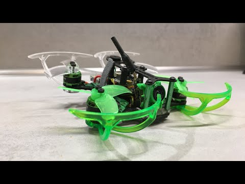 Eachine Propeller Guard on Mantis85 Micro Brushless