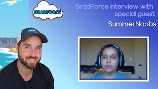 Salesforce Interview With an 11 Year Old Aspiring Salesforce Pro!