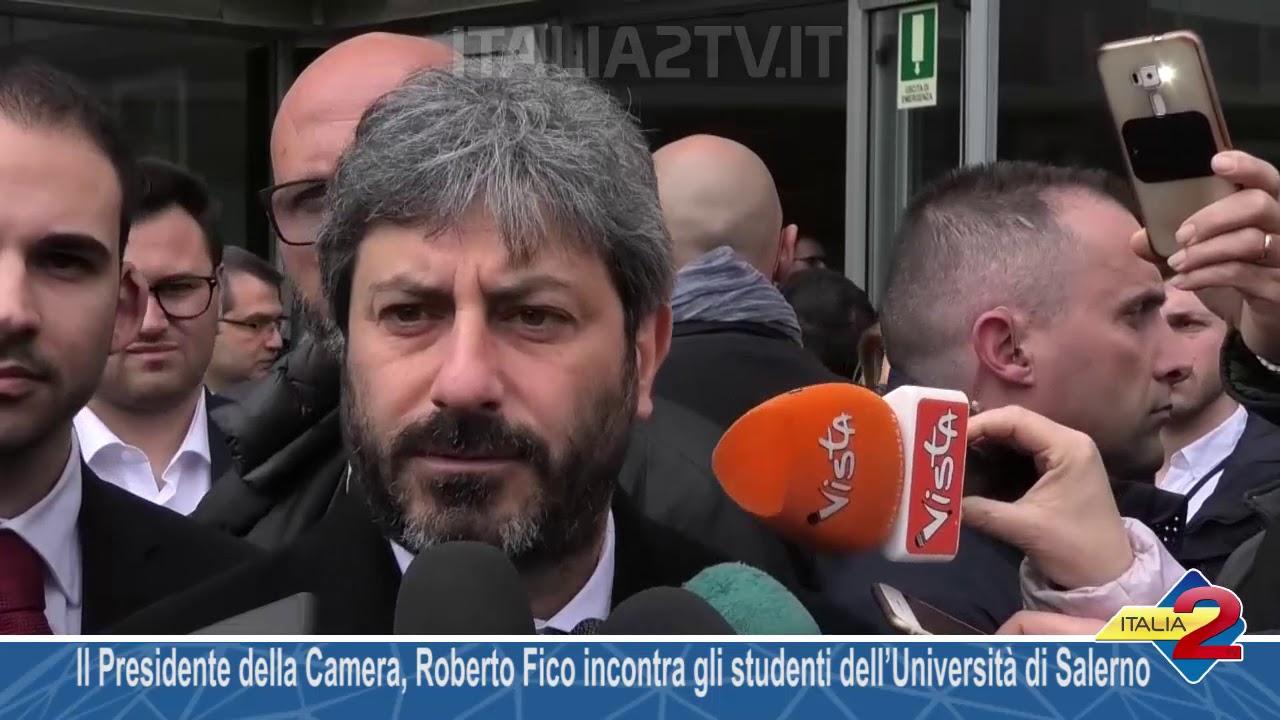 Il Presidente della Camera incontra gli studenti dellUniversit di Salerno  Video