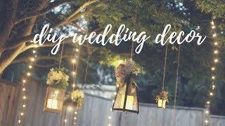 EASY WEDDING DECOR IDEAS: LIGHTING & TWINE BALLS