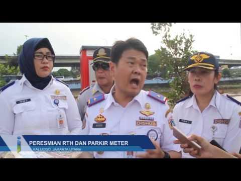 Peresmian RTH Dan Parkir Meter Di RTH Kalijodo