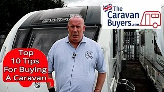 Top 10 Tips To Buying A Used Caravan
