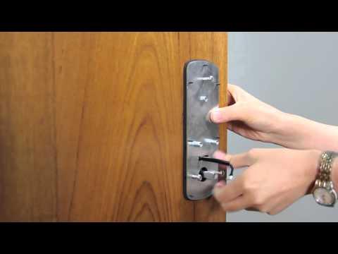 Ultraloq UL3 Fingerprint and Touchscreen Smart Lever Lock Installation Video