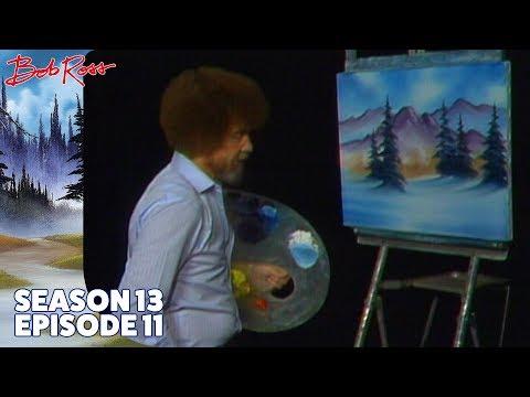 Bob Ross - Cabin Hideaway (Season 13 Episode 11)