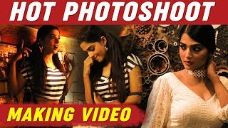 Anagha Hot Photoshoot Making Video   Cineulagam   Actress Anagha Latest