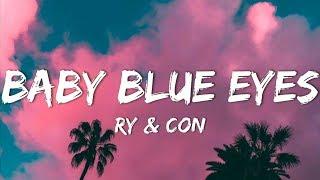 Baby Blue Eyes - Ry & Con Acoustic Cover (Lyrics)