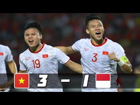 VIỆT NAM VS INDONESIA 2019|  3 – 1 – HIGHLIGHT  VÒNG LOẠI WOLD CUP 2022