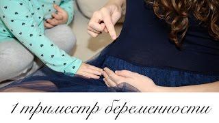 Признаки беременности. Мой первый триместр беременности.