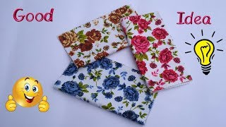 DIY Fabric Flowers Making At Home / Best Out Of Waste / How To Use Waste Fabrics For Home Decor