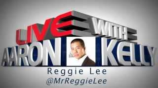 Reggie Lee on LIVE with Aaron & Kelly