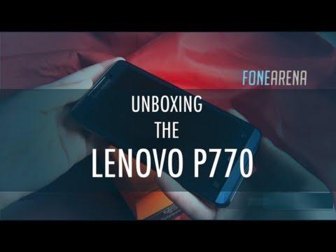 Lenovo P770 Unboxing