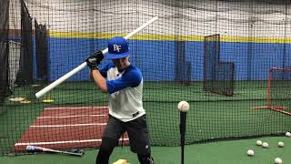 PVC Drill to Help Teach Direction with Hitters