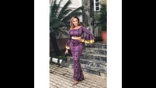 Latest African Print Dresses For Ladies 2018: Lovely Collections Of African Print Dresses 2018