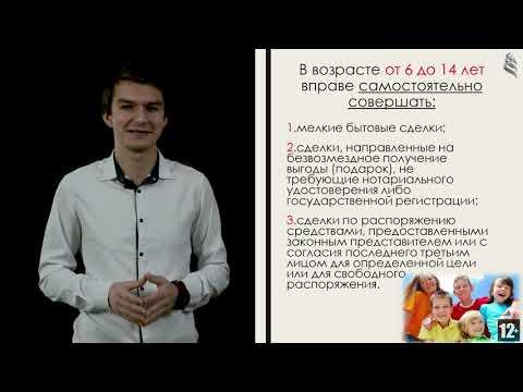 Видеоурок «Права человека» (Всероссийский конкурс видеоуроков «Права человека», 2019 г.)