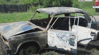 Двое детей сгорели в неисправной машине в Смоленском районе