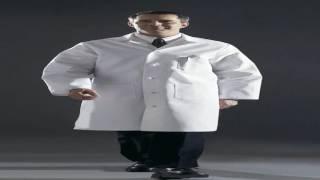 Medline Mens Premium Full Length Lab Coat White Size 46 Model 317TNS46