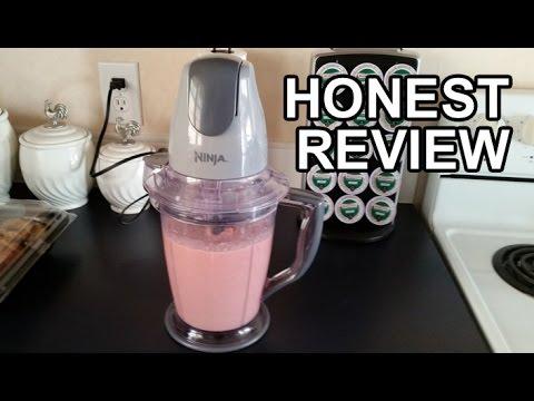 Video Ninja Master Prep Blender Review