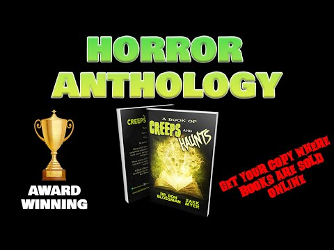 A Book of Creeps and Haunts Book Trailer