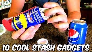 10 Cool Stash Gadgets