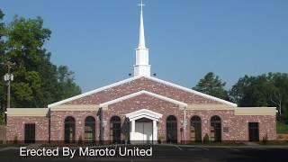 Maroto United | Quality Pre-Engineered Metal Building Church Steel Erection