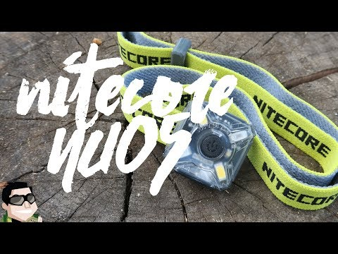 World's Lightest Headlamp!! Nitecore NU05