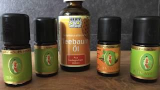Aroma Öle, die ich nutze, für Kinder und Haushalt