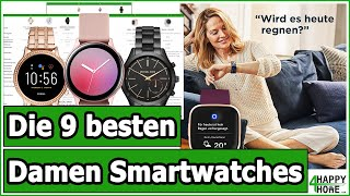 Smartwatch für Damen kaufen 2020 - Die 9 besten Damen-Smartwatches im Vergleich [3 Preisklassen]