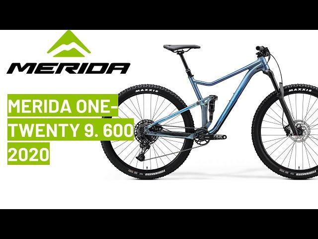 Видео Велосипед Merida One-Twenty 9.700 29 metallic black (matt silver)