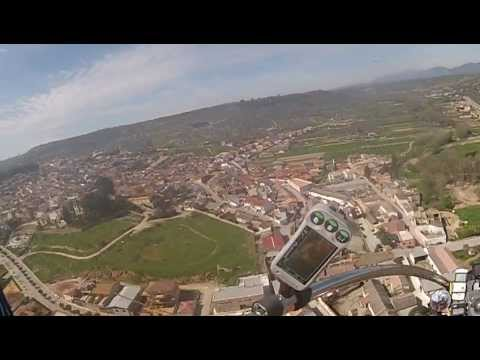Deifontes (Granada) desde el cielo - 07 Abril 2013