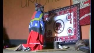 Zulu Sangoma Ritual Dance Isandlwana Kwazulu Natal