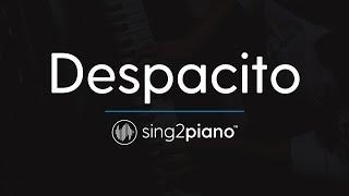 Despacito [Piano Karaoke Instrumental] Luis Fonsi, Daddy Yankee & Justin Bieber