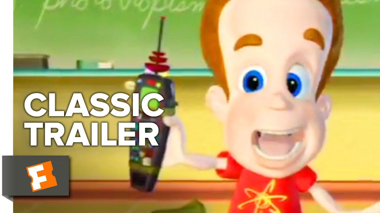 Video trailer för Jimmy Neutron: Boy Genius (2001) Trailer #1 | Movieclips Classic Trailers