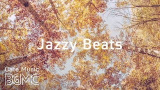 🍁Coffee Beats - Autumn Jazz Hiphop Instrumental Cafe Music - lofi Hiphop Music