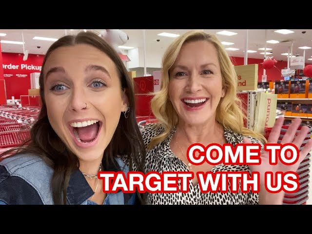 EMMA CHAMBERLAIN AND ANGELA KINSEY GET EVERYTHING AT TARGET