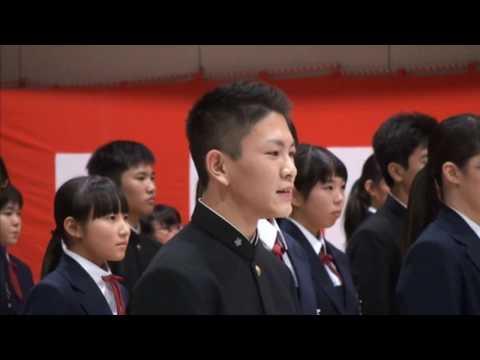 感動・涙腺崩壊 上沼田中学校創立40周年記念 「校歌でダンス」
