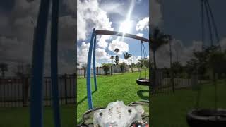 GepRC Thinking P16 HD, Smallest HD FPV Experience! Whooping in a park in Bayamon Part 1 Insta360 Go