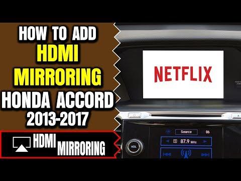 Honda Accord HDMI Port - Honda Accord DVD Video Interface, Honda